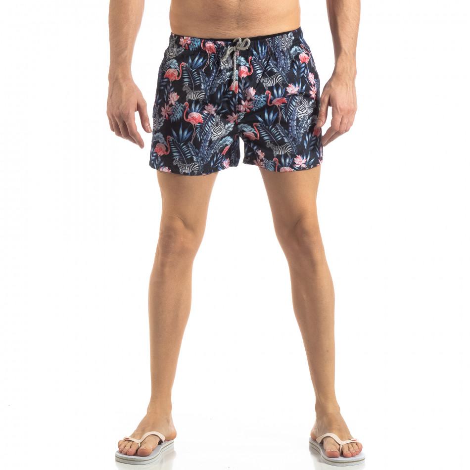 Шарен мъжки бански Tropical дизайн it250319-12