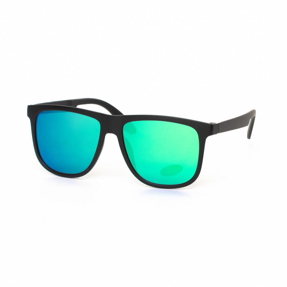 Traveler огледални очила в синьо-зелено it030519-43