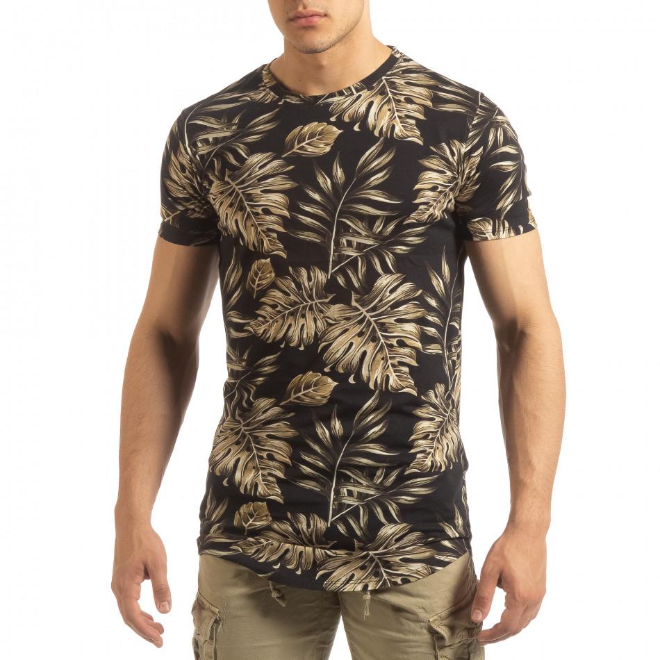 Мъжка тениска с тропически мотиви it090519-56
