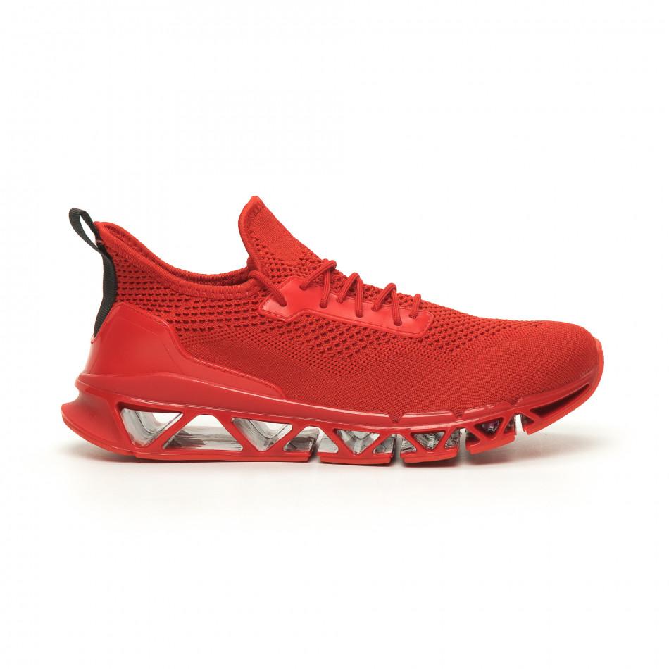 Мъжки маратонки Knife червено it050719-1
