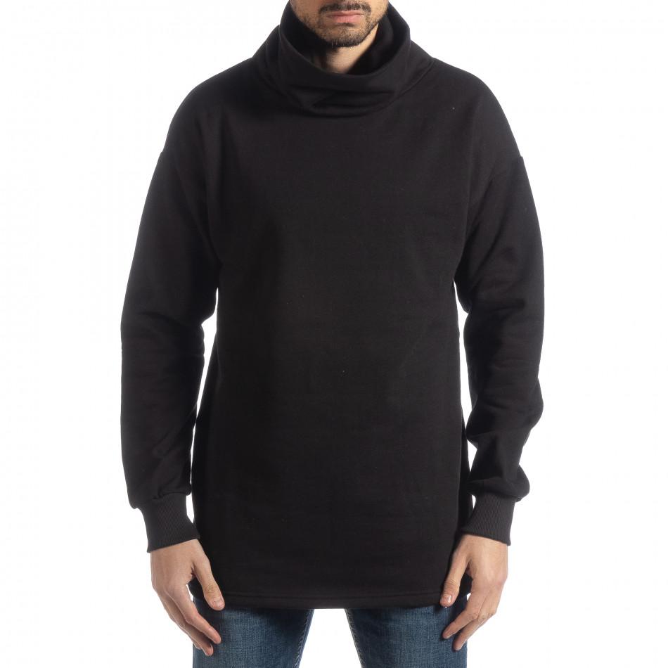 Oversized ватирана блуза с голяма яка it051218-42
