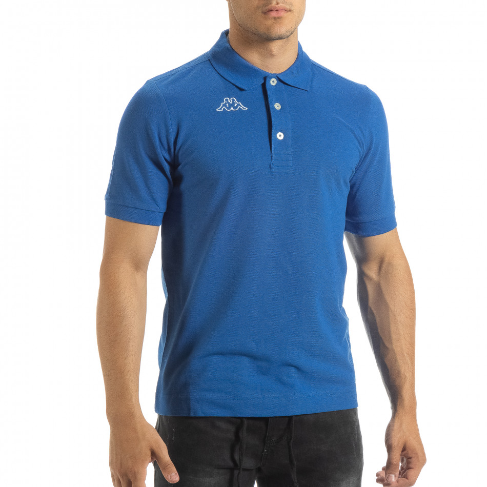 Мъжки polo shirt Kappa в синьо regular fit it120619-22