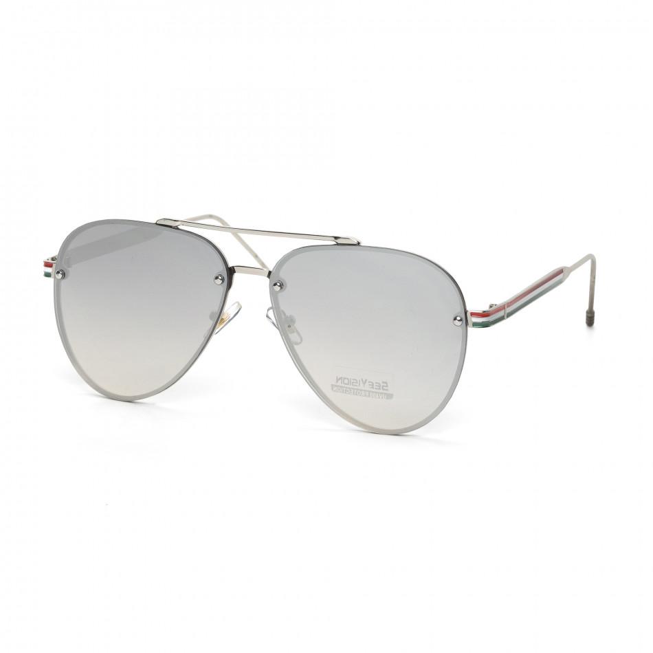 Пилотски очила с плоски стъкла огледални it030519-6