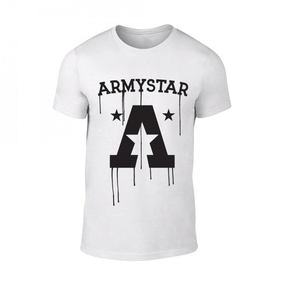 Мъжка бяла тениска Armystar TMN-M-073