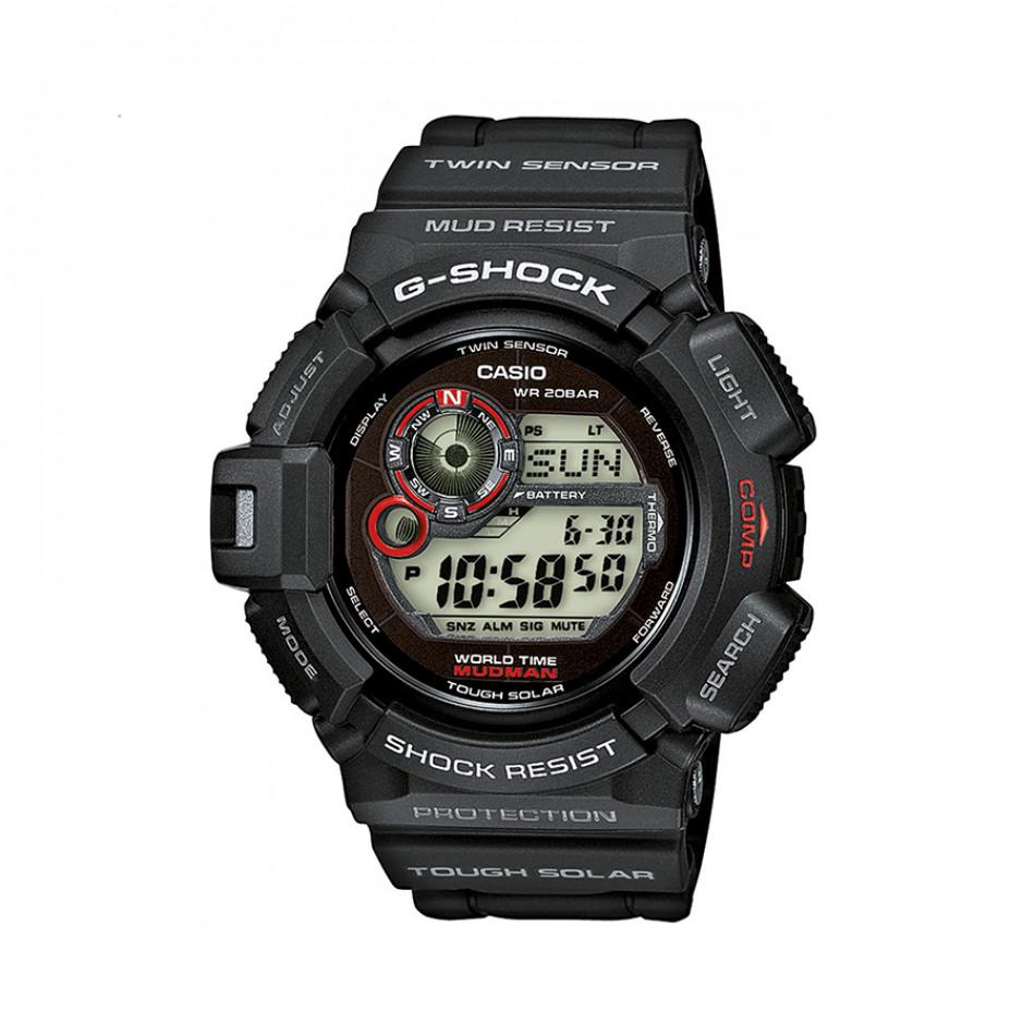 Мъжки спортен часовник Casio G-SHOCK черен устойчив на замърсяване G93001ER