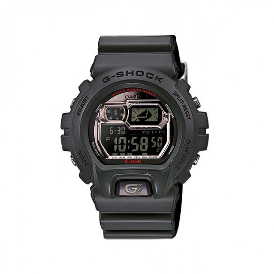 Мъжки спортен часовник Casio G-SHOCK сив с черен дисплей GB6900B3ER