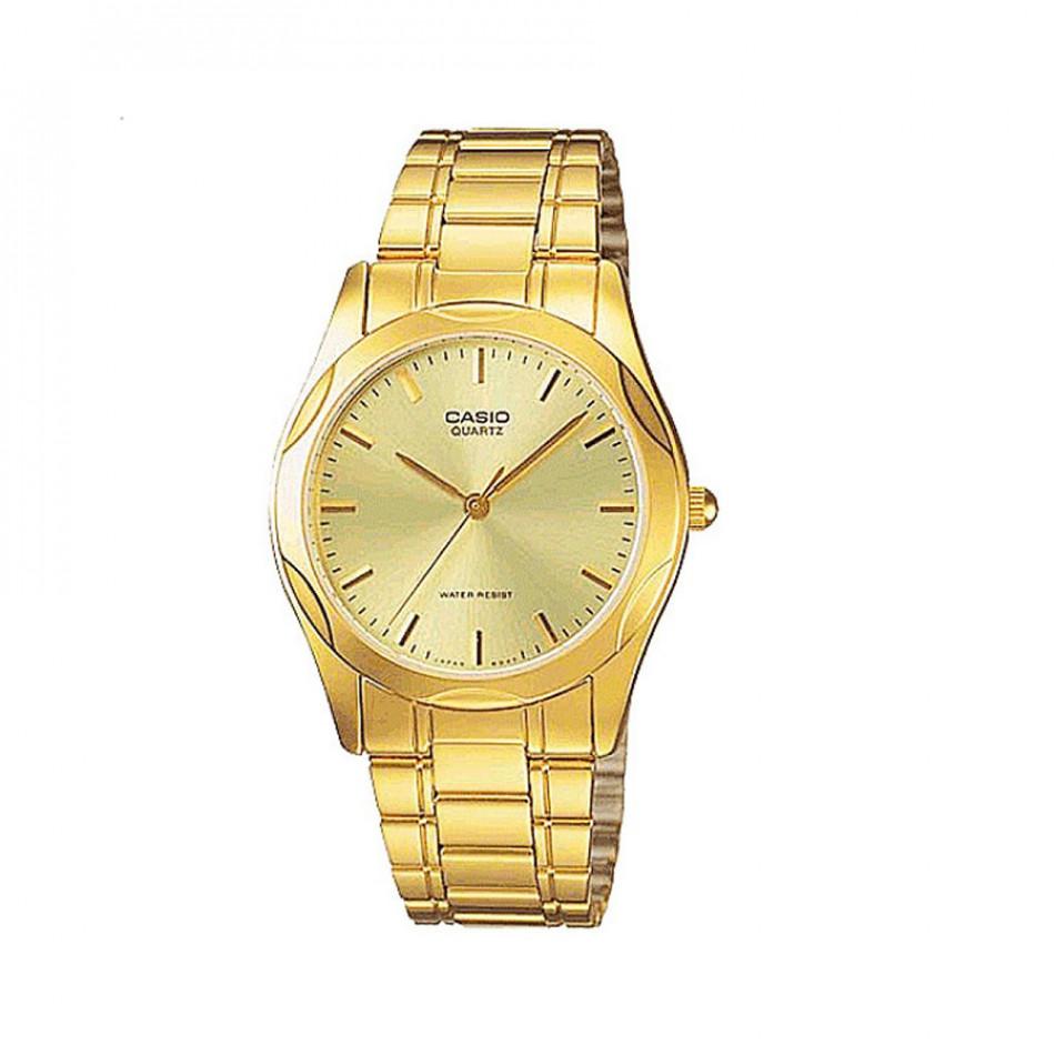 Мъжки часовник Casio Collection златист браслет MTP1275G9ADF