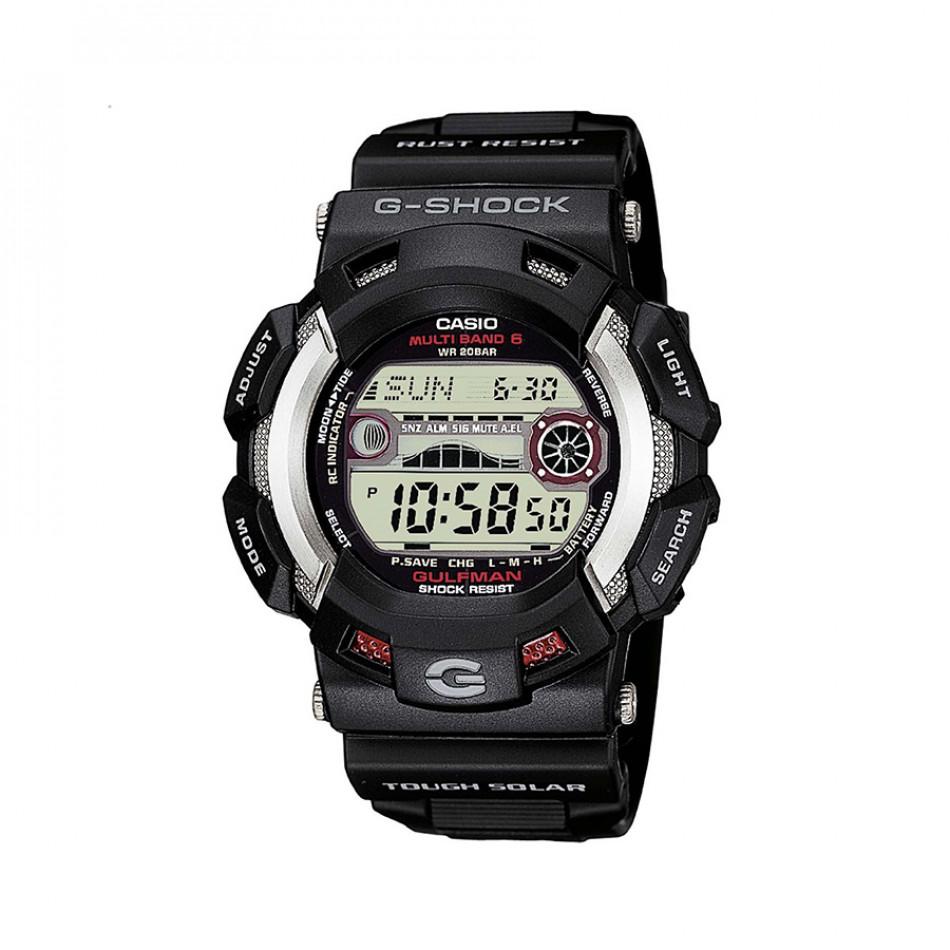 Мъжки спортен часовник Casio G-SHOCK черен с електронен дисплей GW91101ER