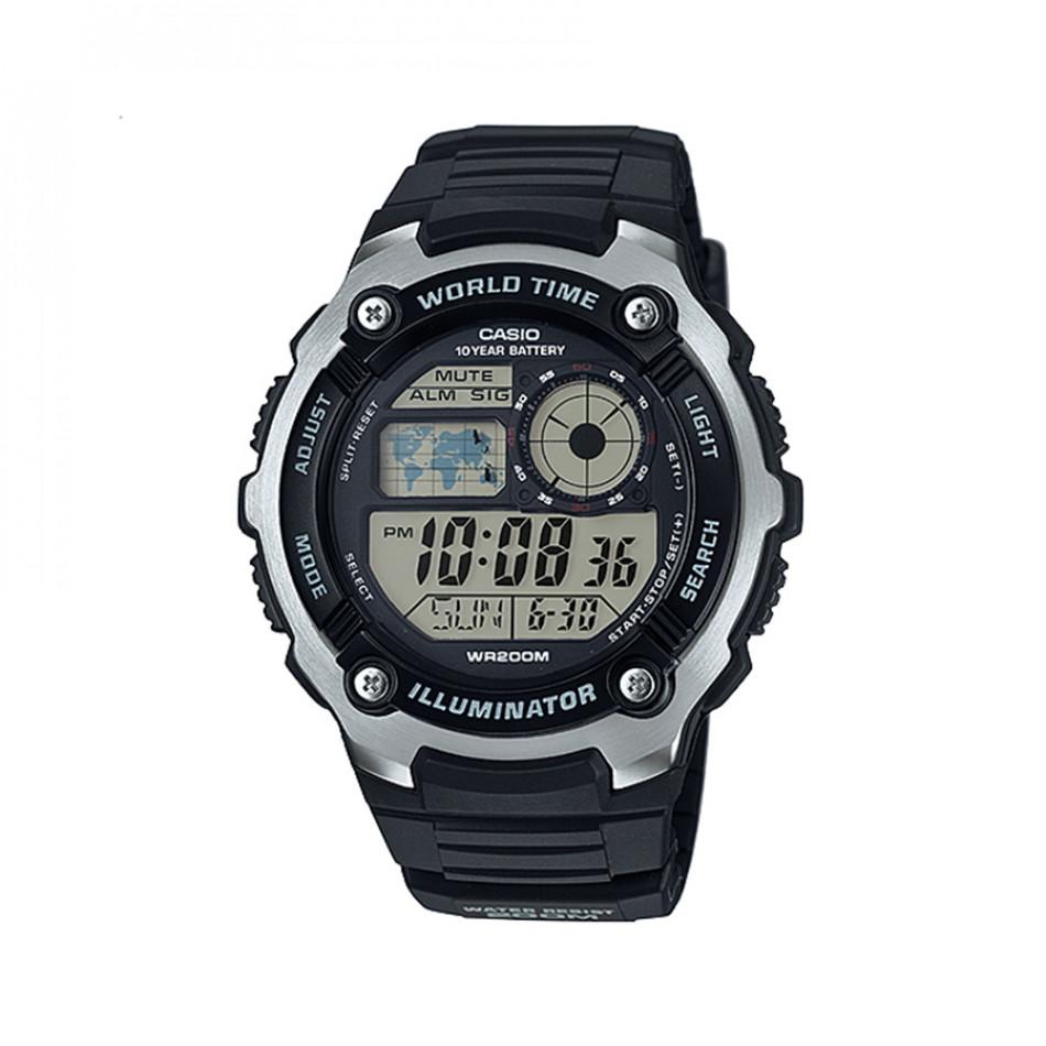 Мъжки часовник Casio Collection черен риболовен AE2100W1AVEF
