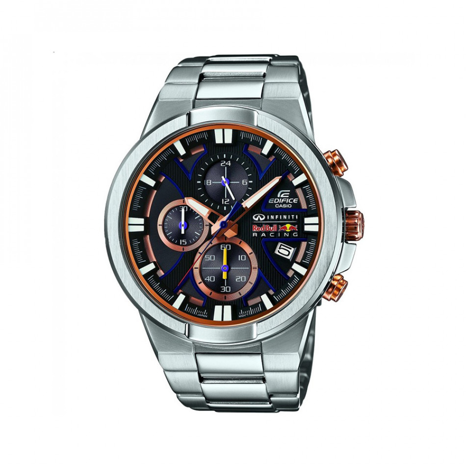 Мъжки часовник Casio Edifice сребрист браслет Infiniti Red Bull Racing EFR544RB1AER