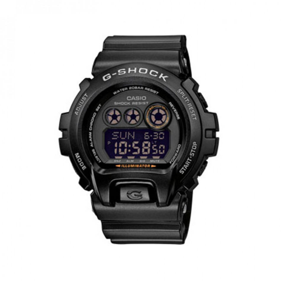 Мъжки спортен часовник Casio G-SHOCK черен с черен дисплей GDX69001ER