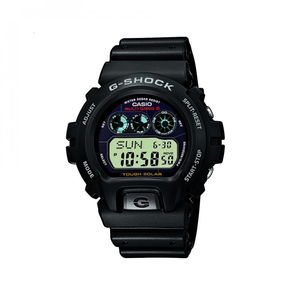 Мъжки спортен часовник Casio G-SHOCK черен с тъмно син дисплей GW69001ER