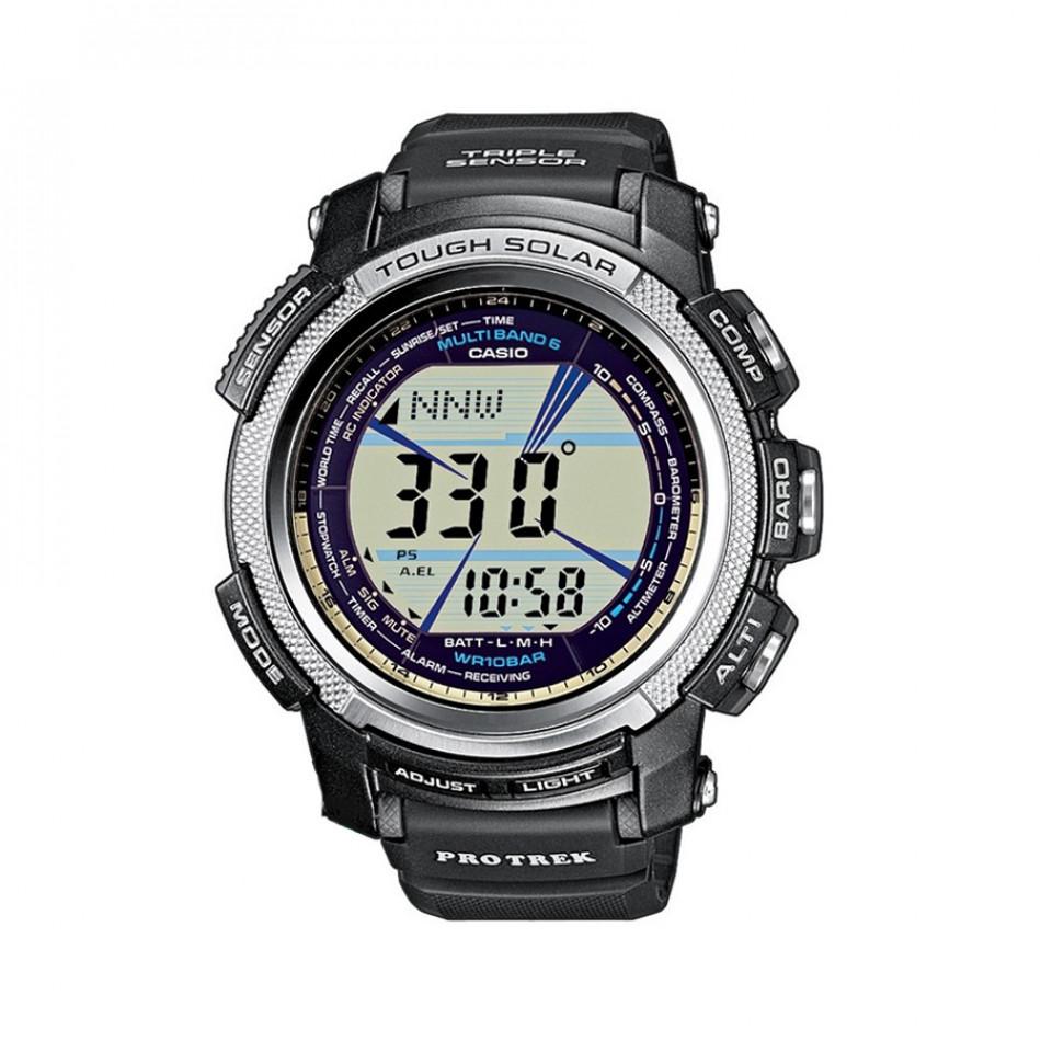 Мъжки часовник Casio Pro Trek черен с барометър PRW20001ER