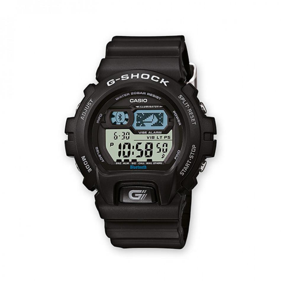 Мъжки спортен часовник Casio G-SHOCK черен с Bluetooth GB6900B1ER