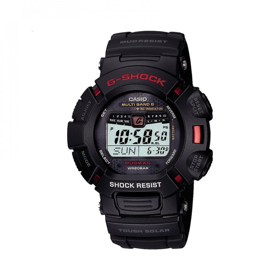Мъжки спортен часовни Casio G-SHOCK черен с червен надпис GW90101ER