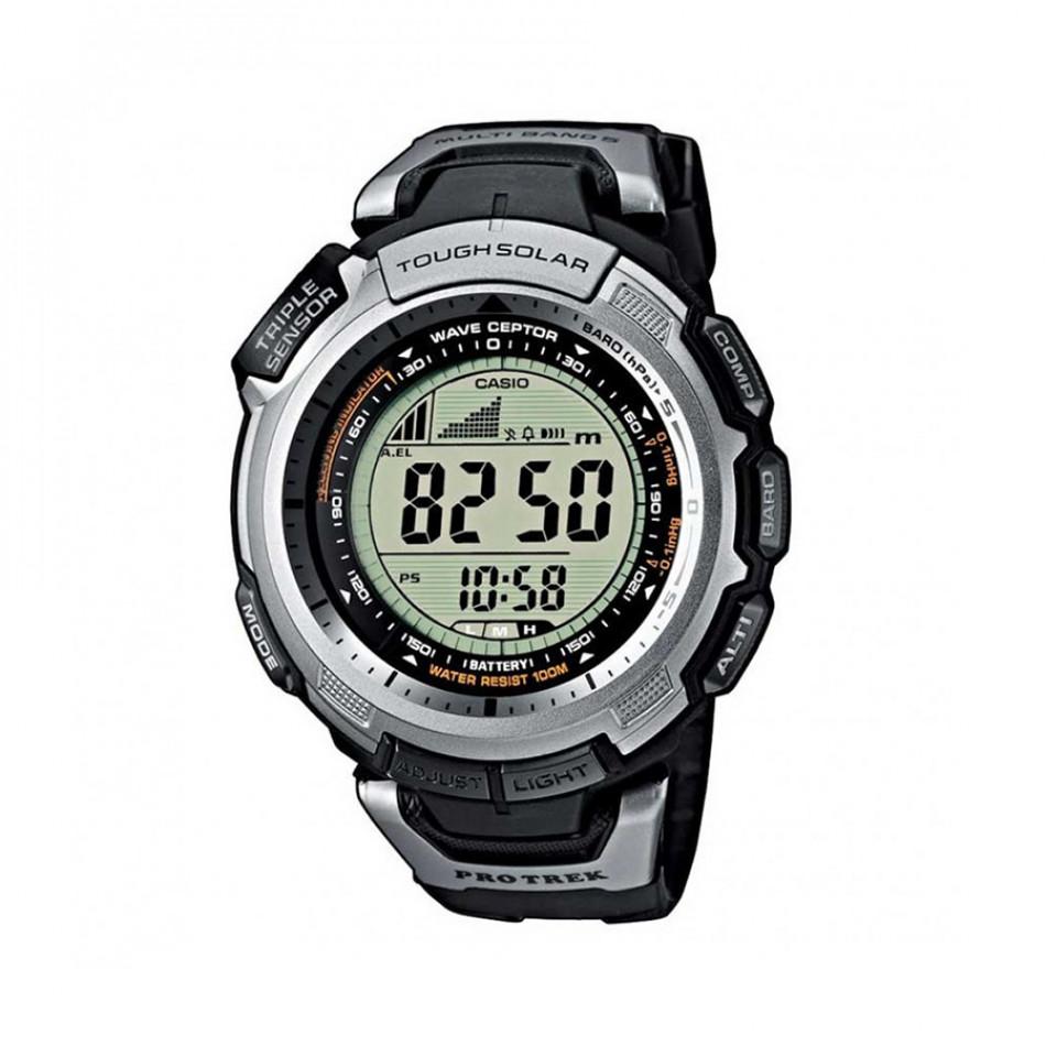 Мъжки часовник Casio Pro Trek с полимерна каишка PRW13001VER