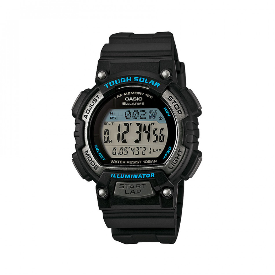 Мъжки часовник Casio Collection черен с автоматичен календар STLS300H1AEF