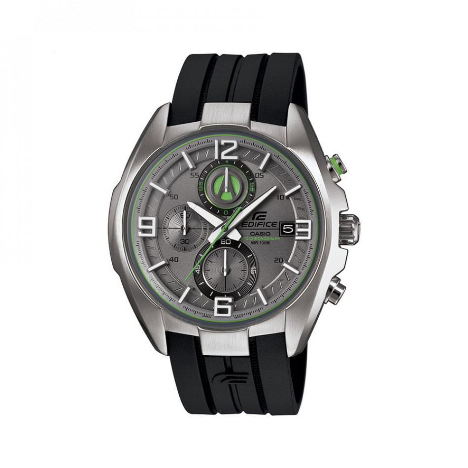 Мъжки часовник Casio Edifice черен със сив циферблат EFR5297AVUEF