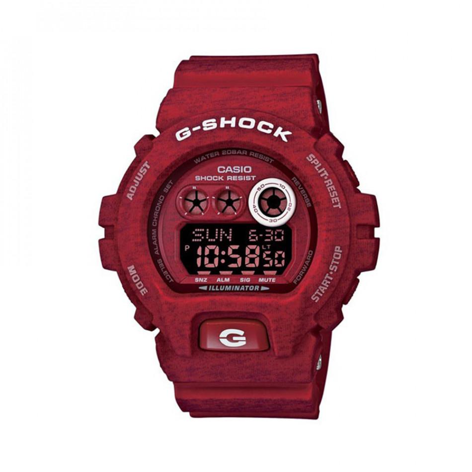 Мъжки спортен часовник Casio G-SHOCK червен с бели надписи GDX6900HT4ER