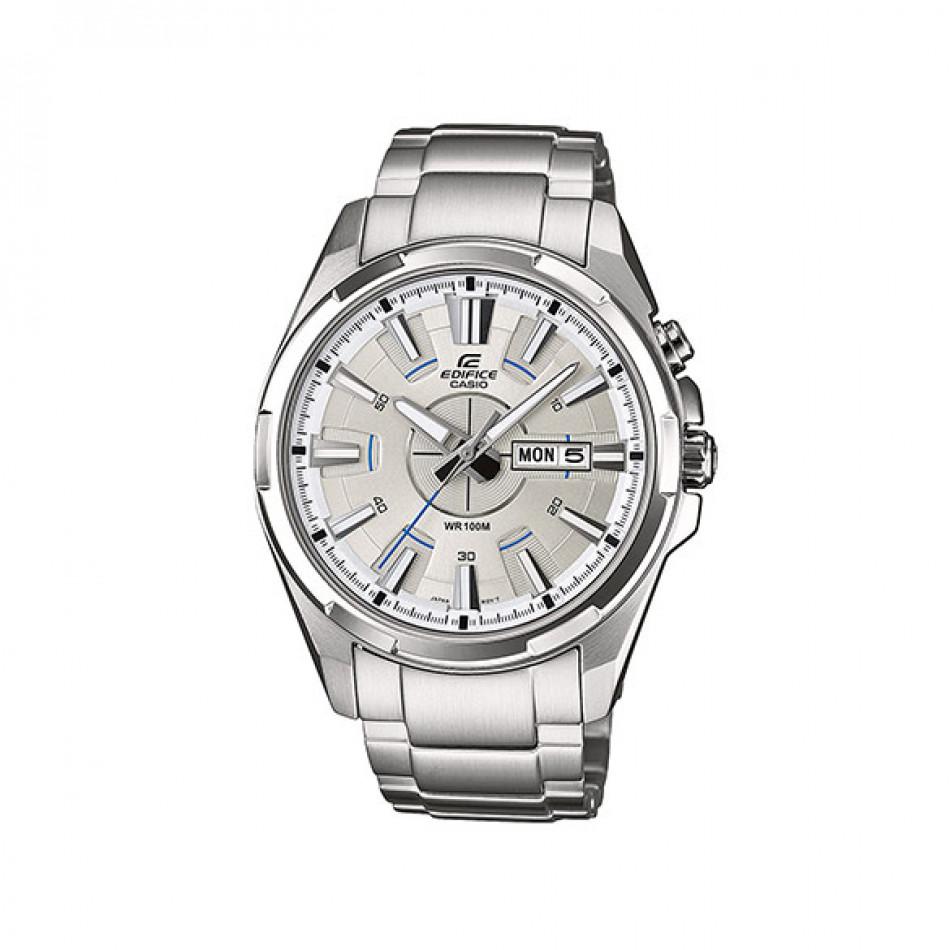 Мъжки часовник Casio Edifice изцяло сребрист EFR102D7AVEF