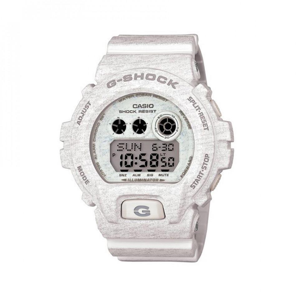 Мъжки спортен часовник Casio G-SHOCK бял със сиви надписи GDX6900HT7ER