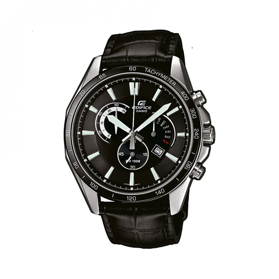 Мъжки часовник Casio Edifice черен с показване на дата и ден EFR510L1AVEF