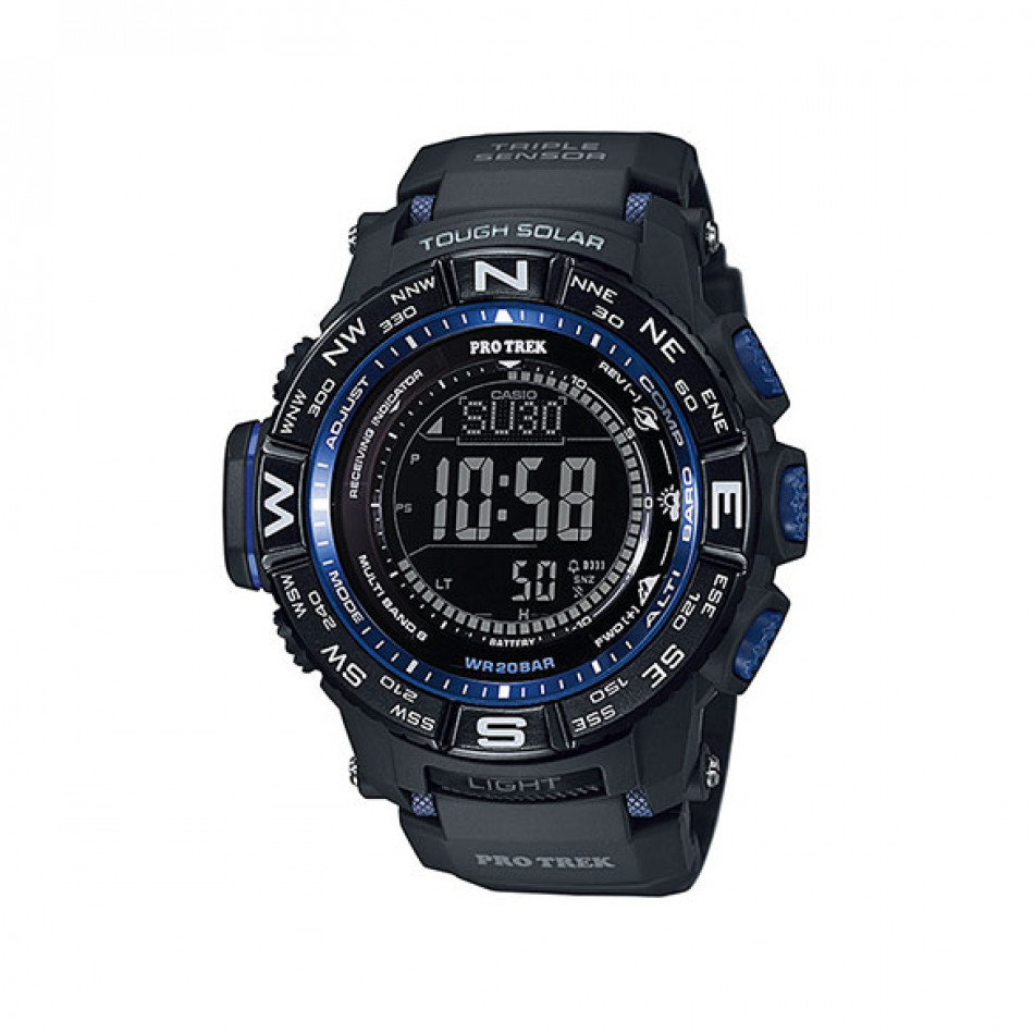 Мъжки часовник Casio Pro Trek  със сверяване чрез радио сигнал PRW3500Y1ER