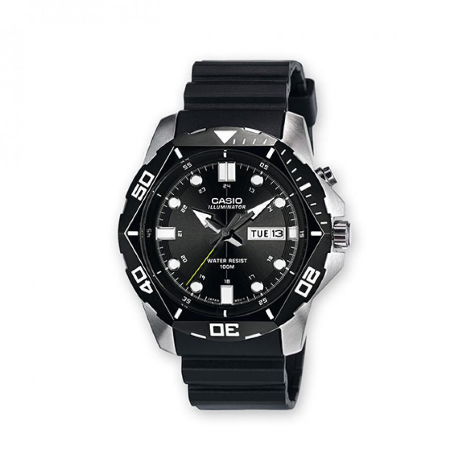 Мъжки часовник Casio Outdoor с черна полимерна каишка MTD10801AVEF