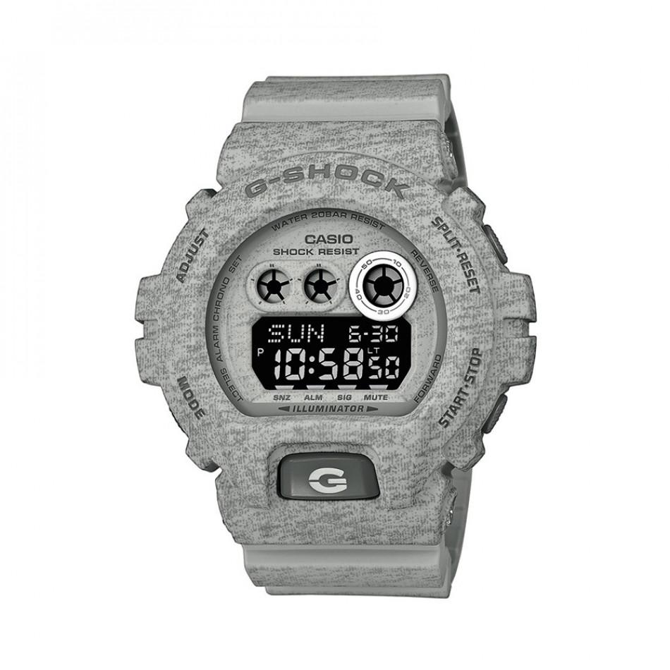 Мъжки спортен часовник Casio G-SHOCK сив с тъмно сиви надписи GDX6900HT8ER