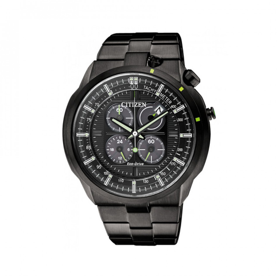 Eco-Drive Bullhead Chronograph Men's Watch CA0485-52E CA0485 52E/Cal. B612
