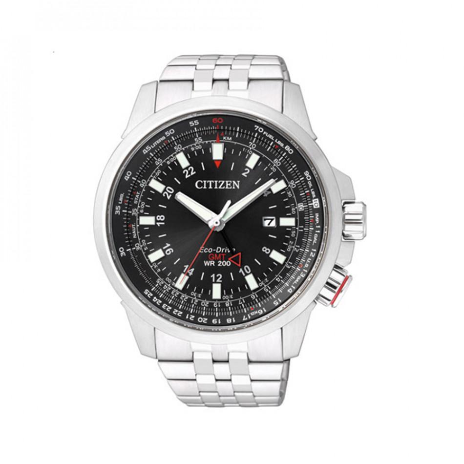 Promaster Pilot Eco-Drive GMT Men's Watch BJ7070-57E BJ7070 57E