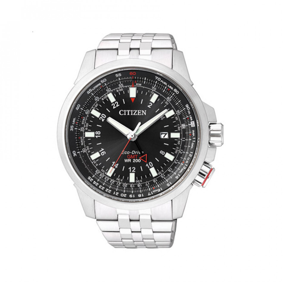 Promaster Pilot Eco-Drive GMT Men's Watch BJ7070-57E BJ7070 57E
