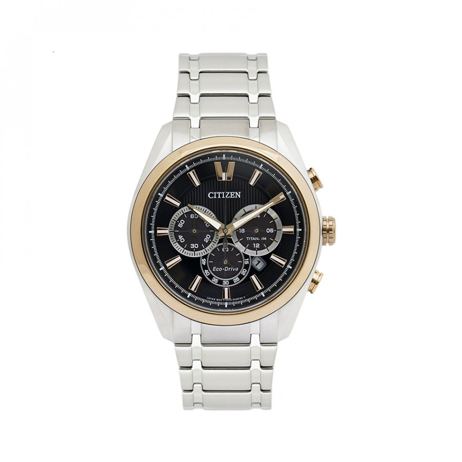Eco-Drive Titanium Super Titanium Chronograph Men's Watch CA4014-57E CA4014 57E/cal B620