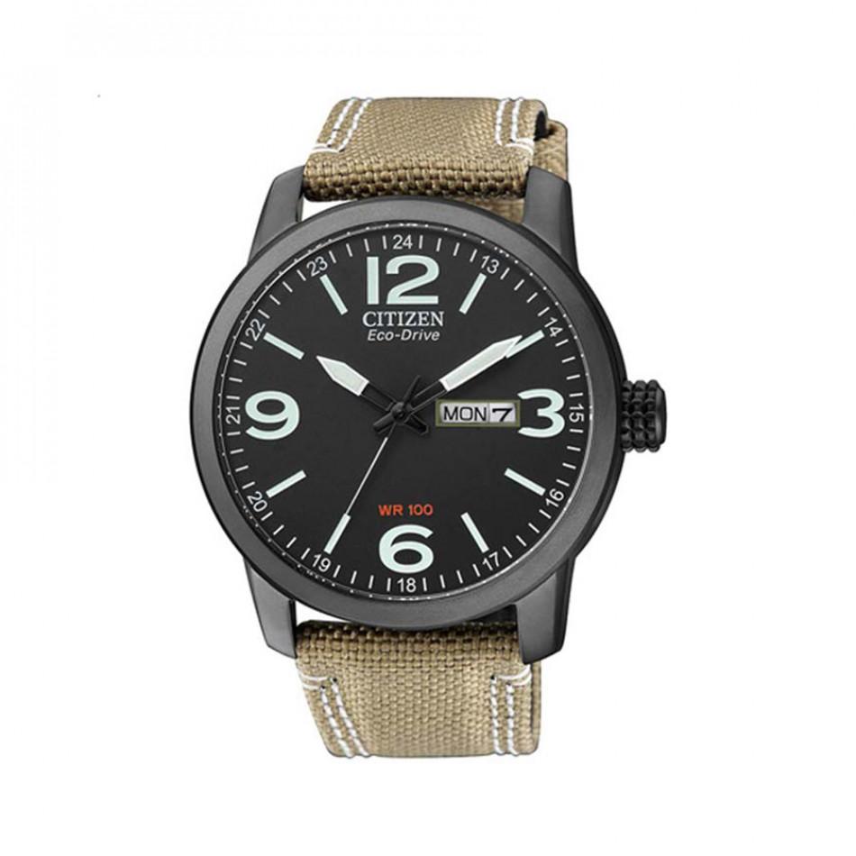 Eco-Drive Black Dial Men's Watch BM8476-23EE BM8476 23EE