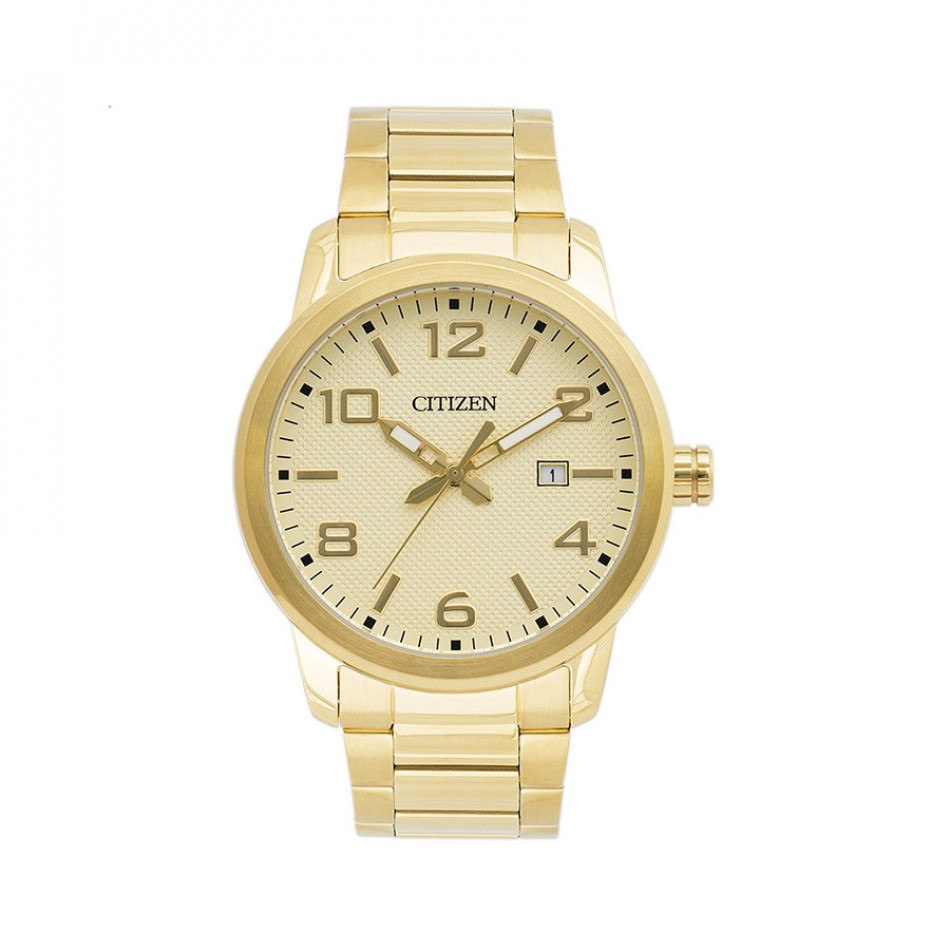 Gold Tone Men's Watch BI1022-51P BI1022 51P