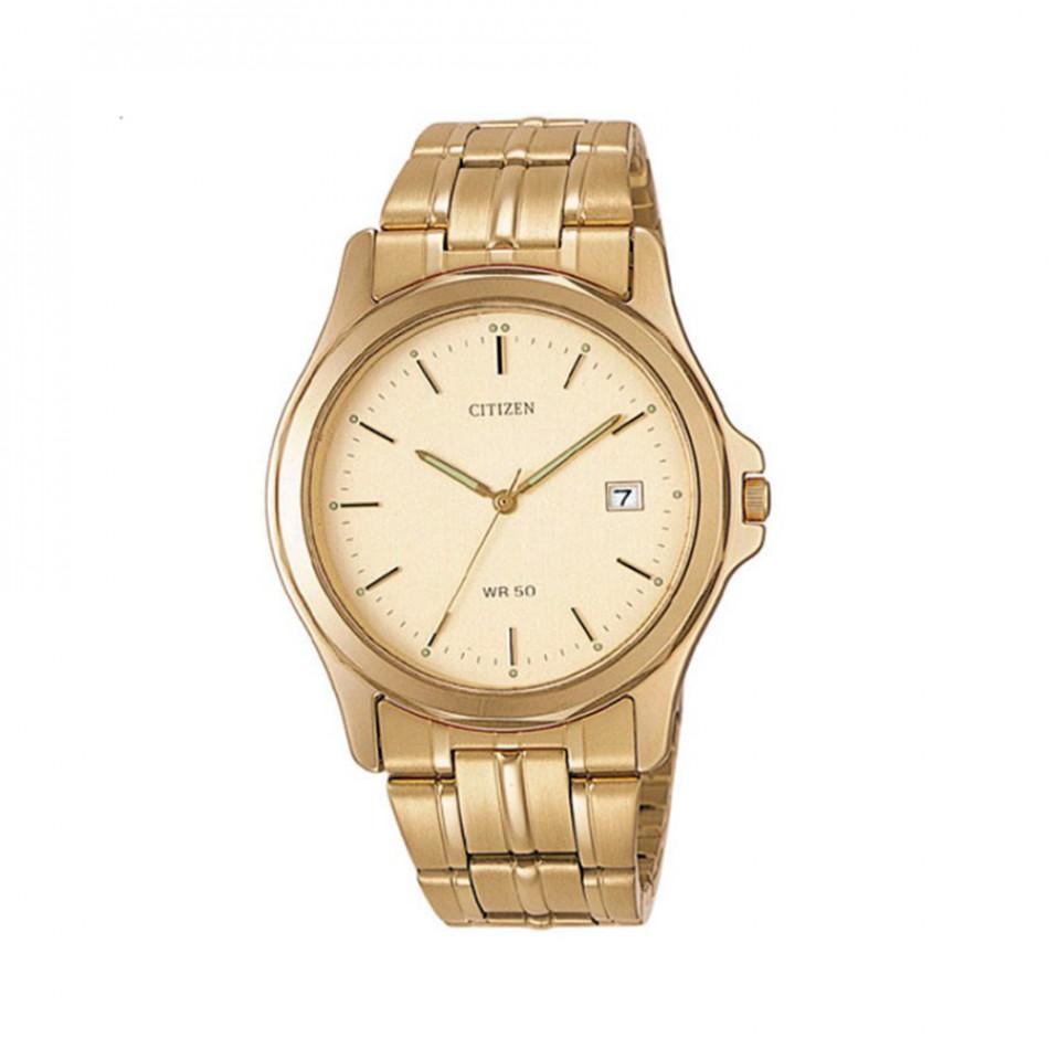 Мъжки часовник Citizen златист браслет BI0742 58P