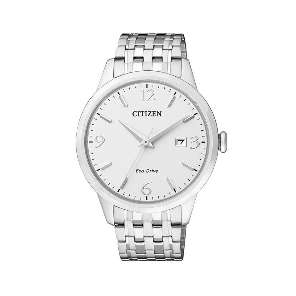 Мъжки часовник Citizen изцяло сребрист браслет BM7300-50A