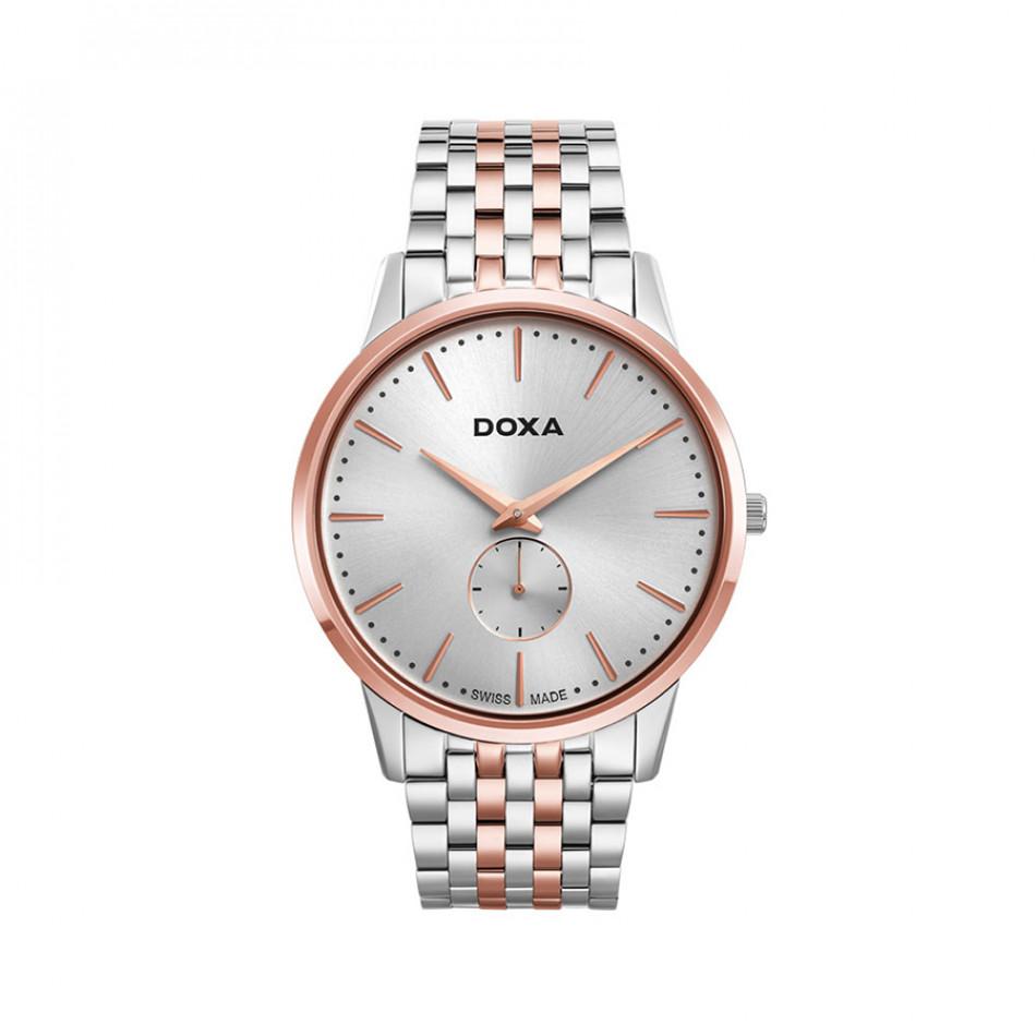 Мъжки часовник DOXA Slim Line браслет с малък секундарник 1056002160