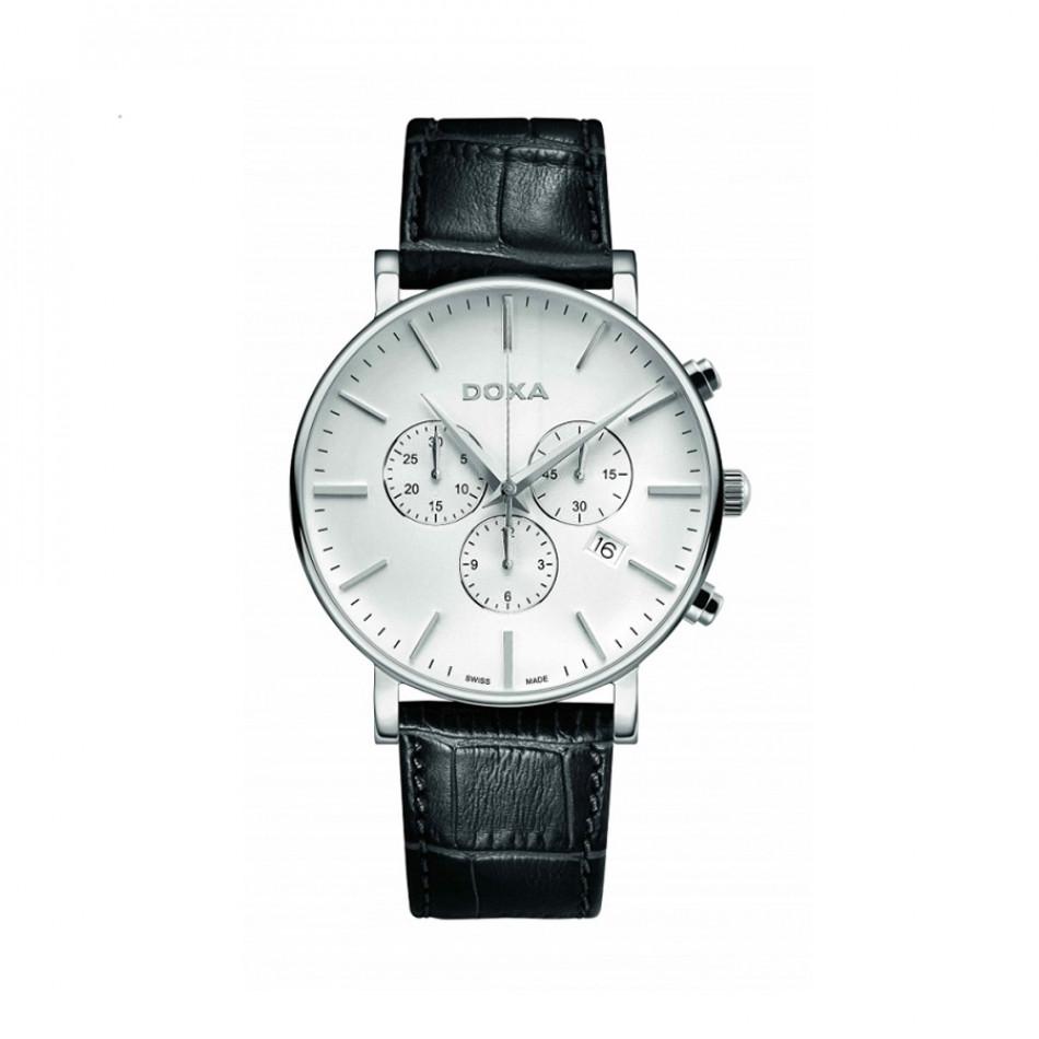 Мъжки часовник DOXA D-Light кварцов хронограф 1721001101