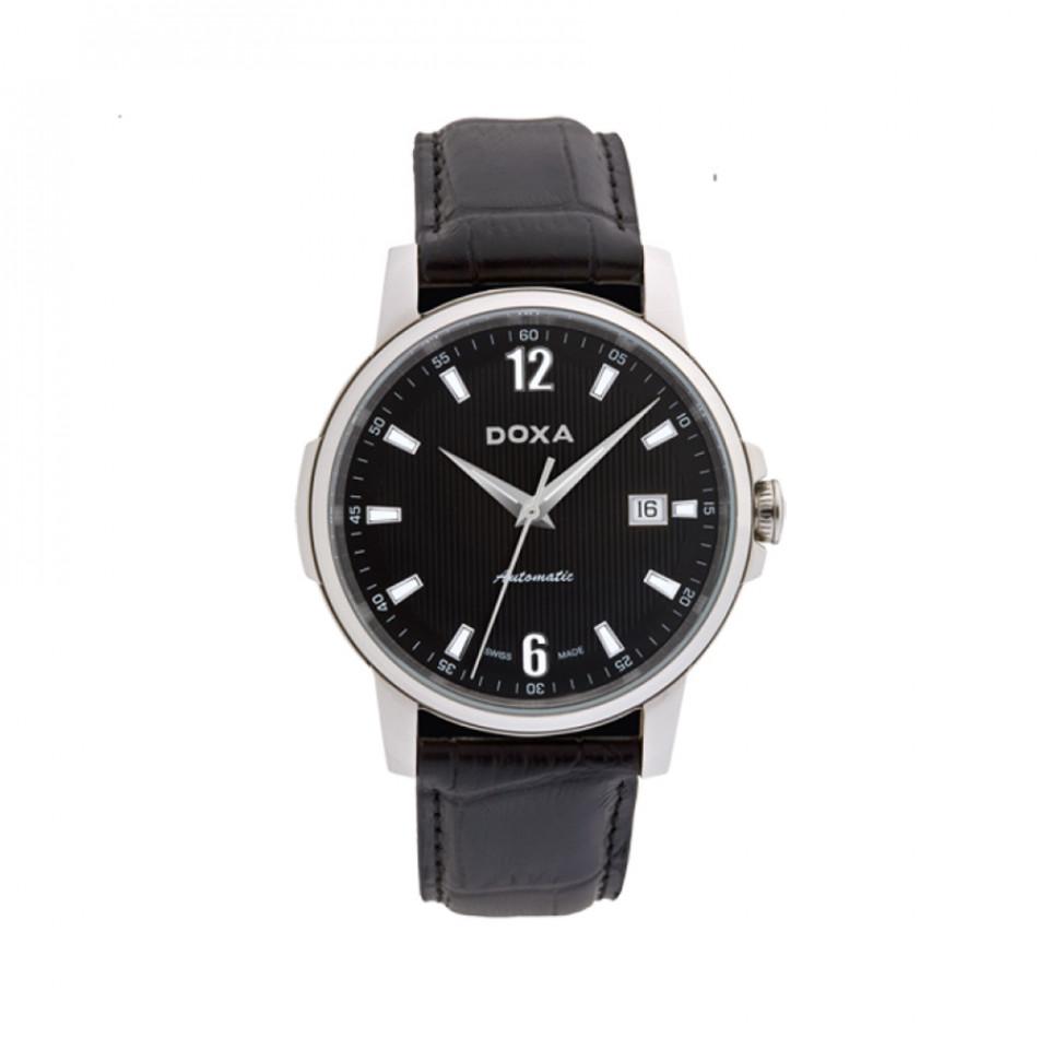 Мъжки часовник DOXA Ethno черен с автоматичен механизъм 2051010301