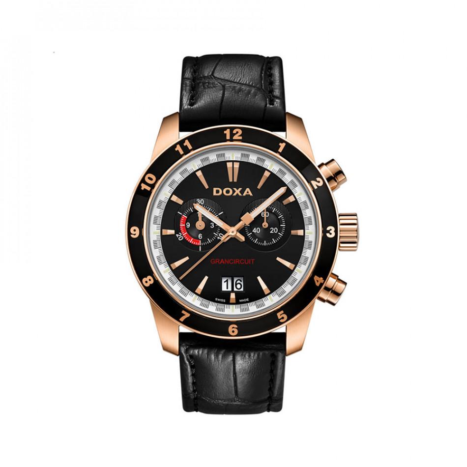 Мъжки часовник DOXA Grancircuit с фосфоресциращи стрелки 1409010101
