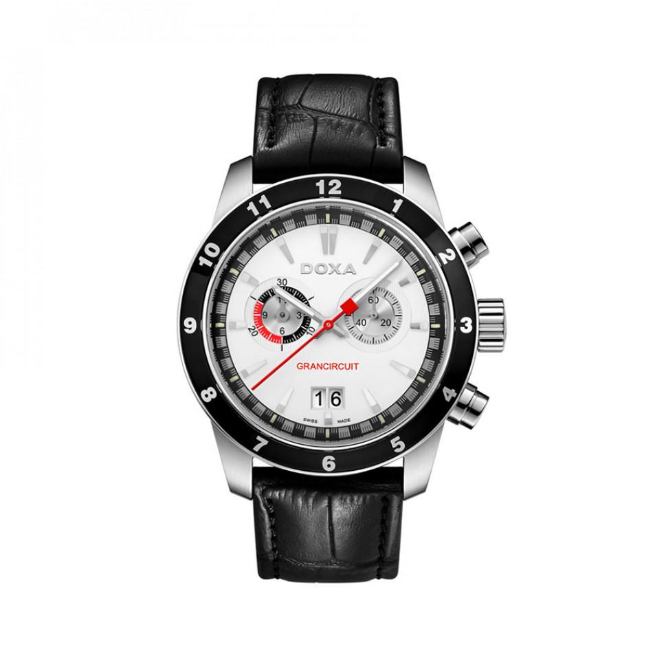 Мъжки часовник DOXA Grancircuit с швейцарски механизъм Ronda 1401001101