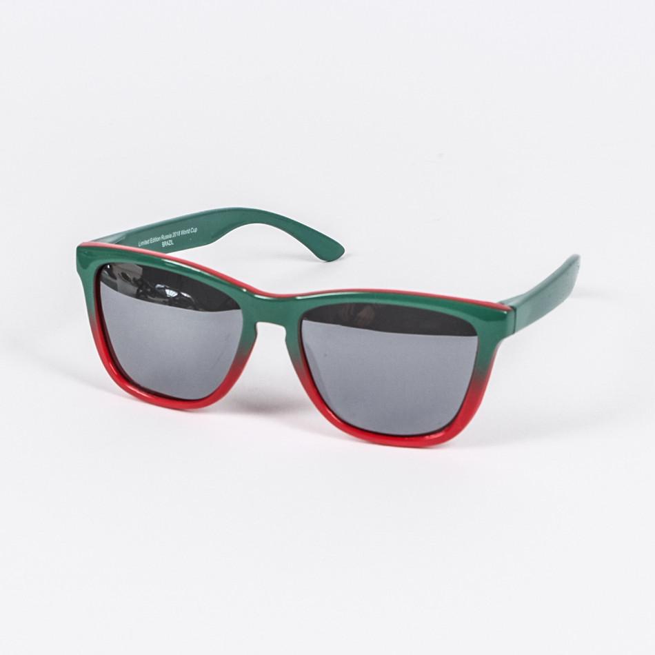 Traveler огледални очила зелено-червена рамка il210720-12