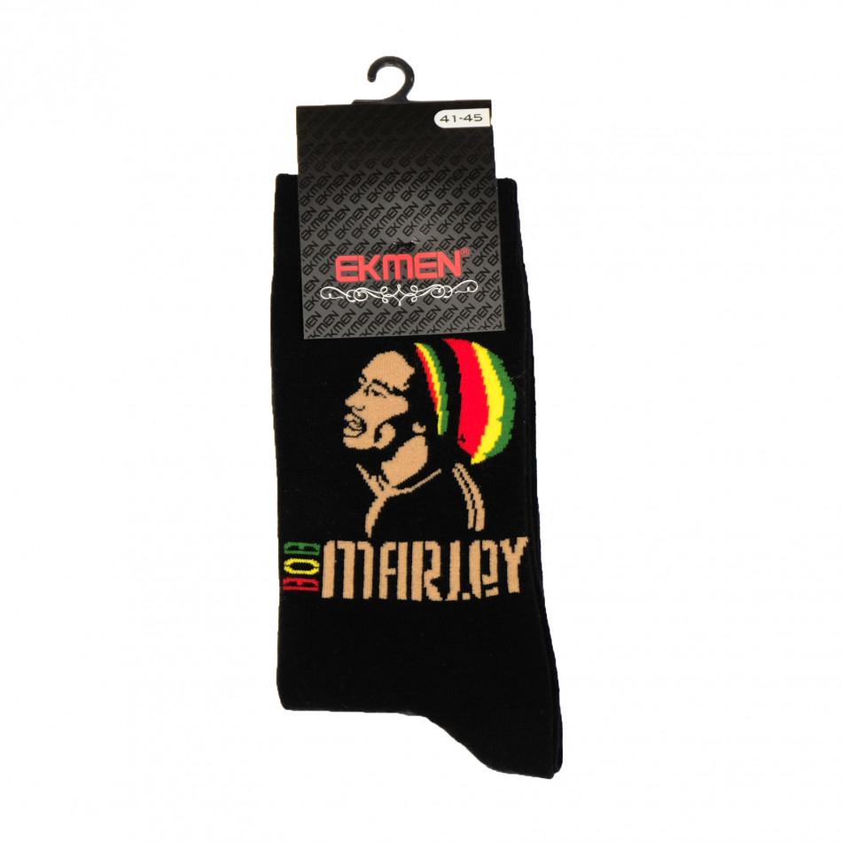 Мъжки забавни чорапи Bob Marley il161220-27
