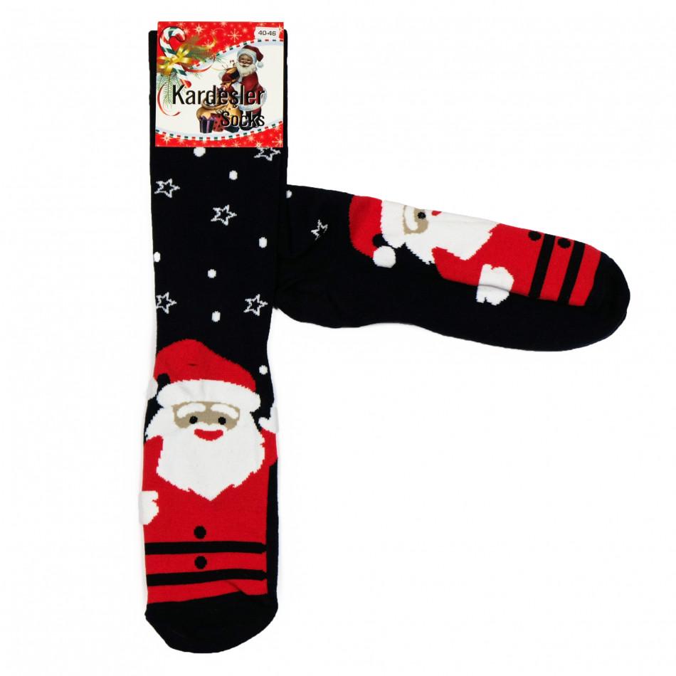 Мъжки тъмносини коледни чорапи il161220-41