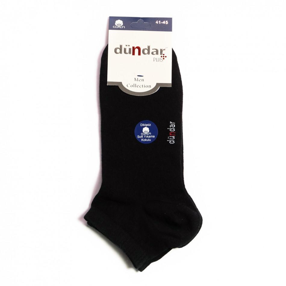 Мъжки черни къси чорапи il040621-47