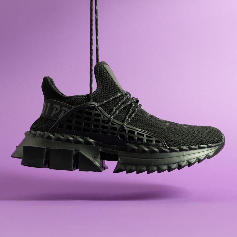 Мъжки маратонки Cubic All black it261020-5