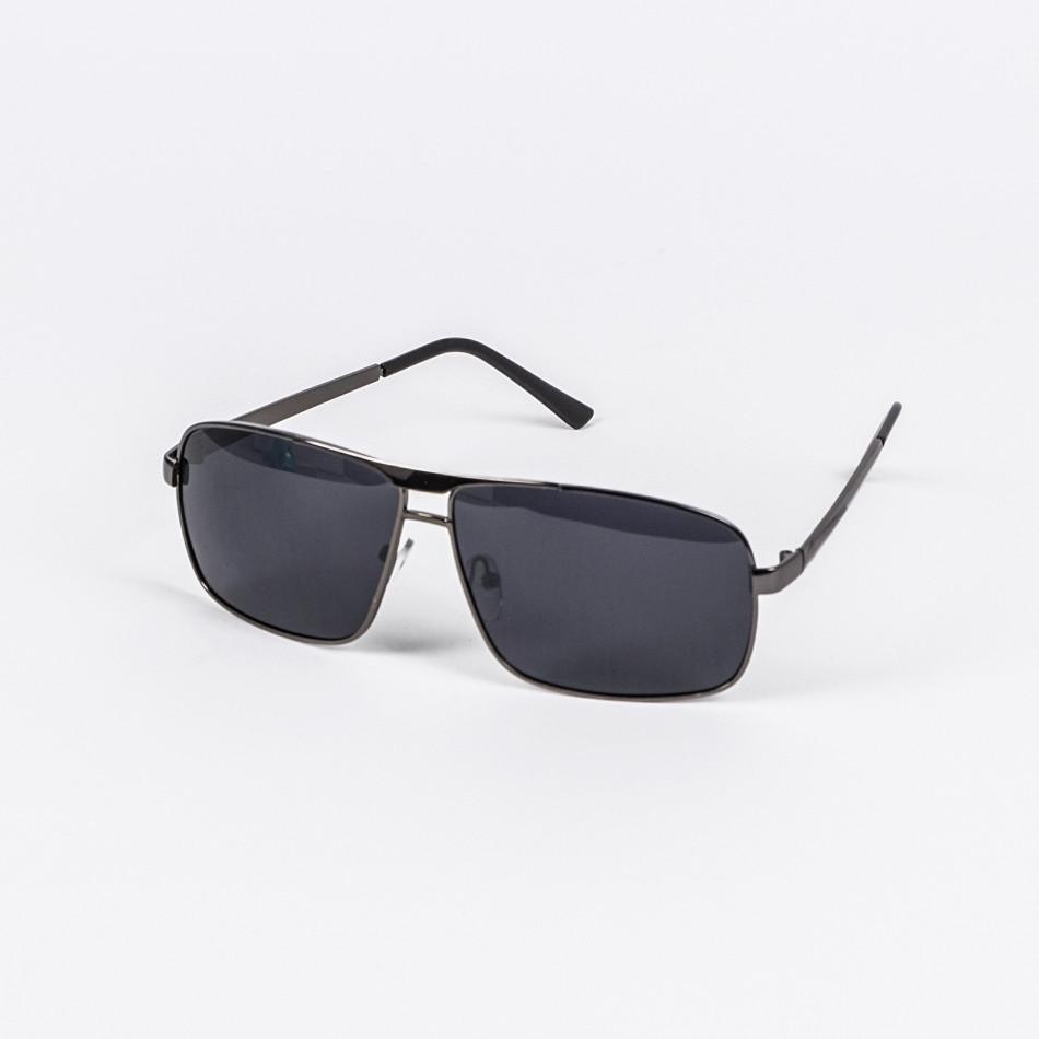 Черни слънчеви очила метална рамка il200720-14