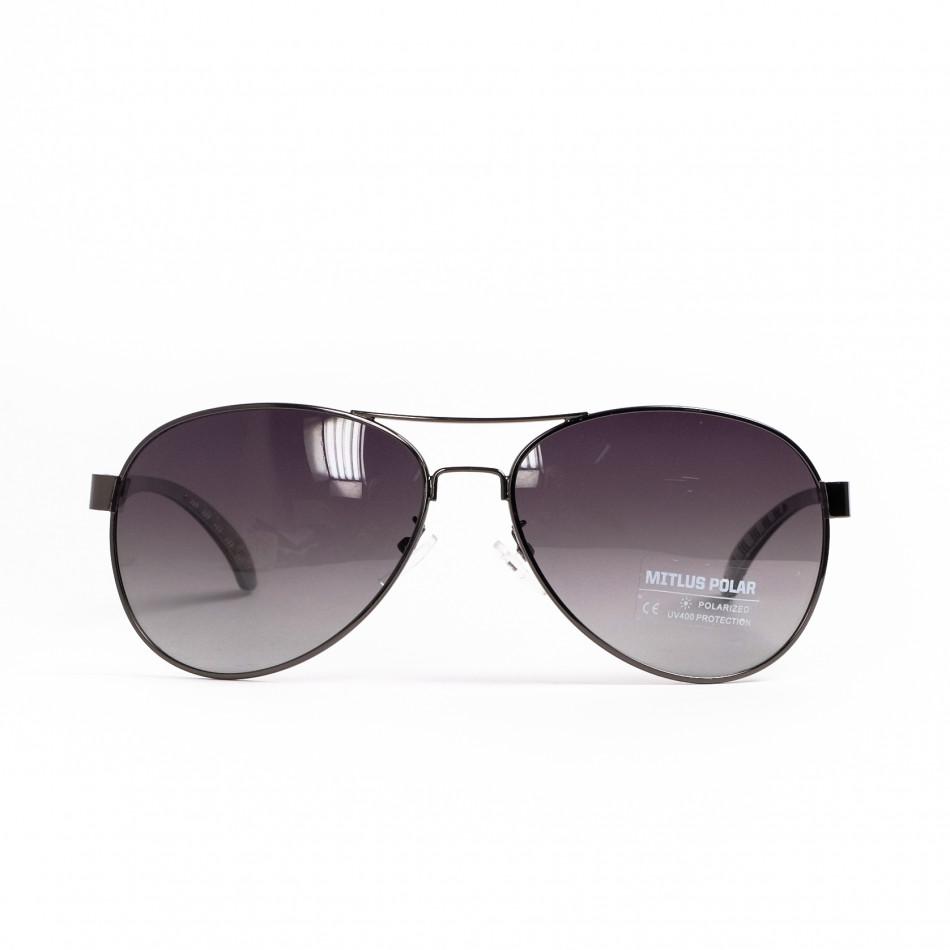 Опушени пилотски слънчеви очила il200521-19