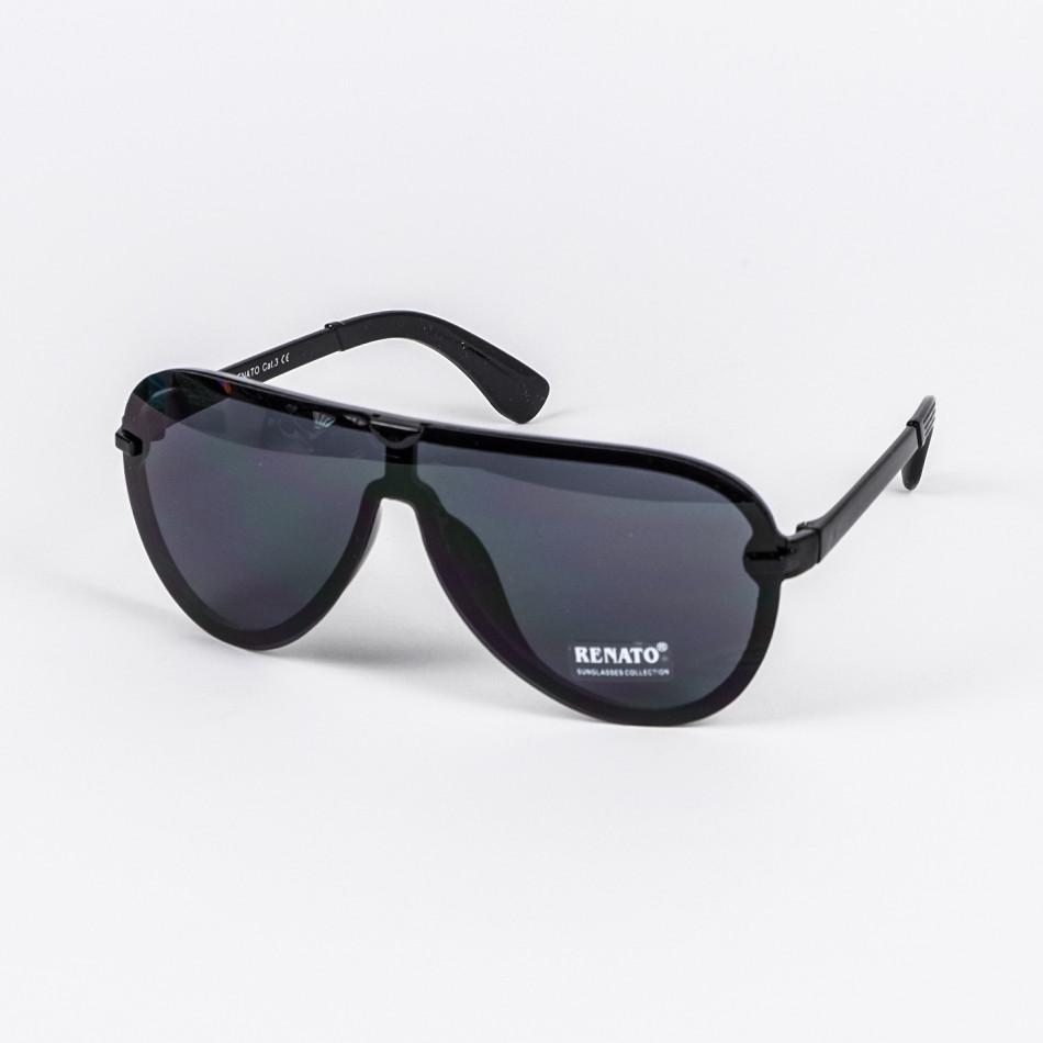 Черни слънчеви очила маска il210720-6